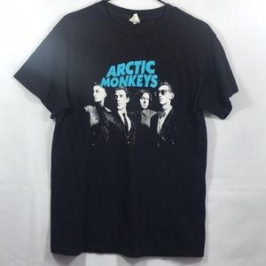 Arctic Monkeys Band Tee  100% Cotton Size M